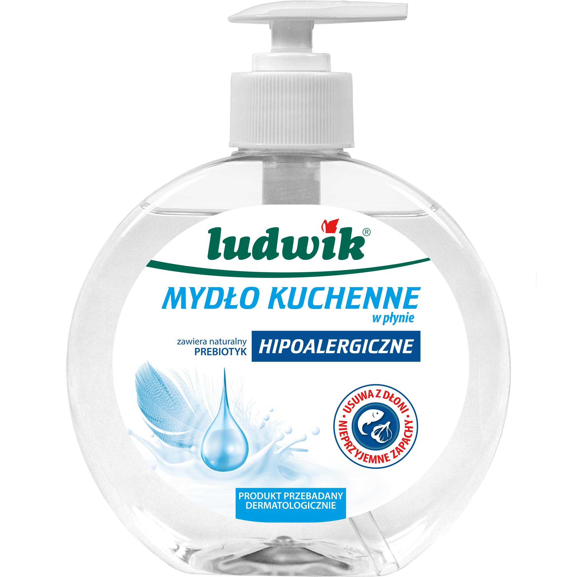 Kitchen hypoallergenic liquid soap